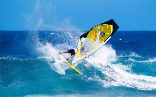 Πως να κάνετε windsurfing στα κύματα