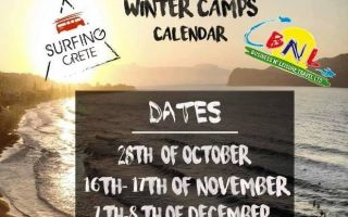 Surf Crete - Winder Camps Calendar
