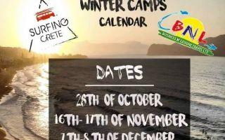 Surf Crete - Winder Camps Calendar