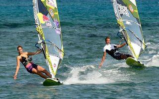 Ευεργετική η επίδραση του windsurfing σε χρόνια νοσήματα